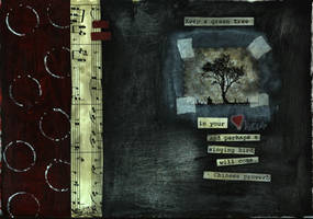 tree art Journal page by KristyC