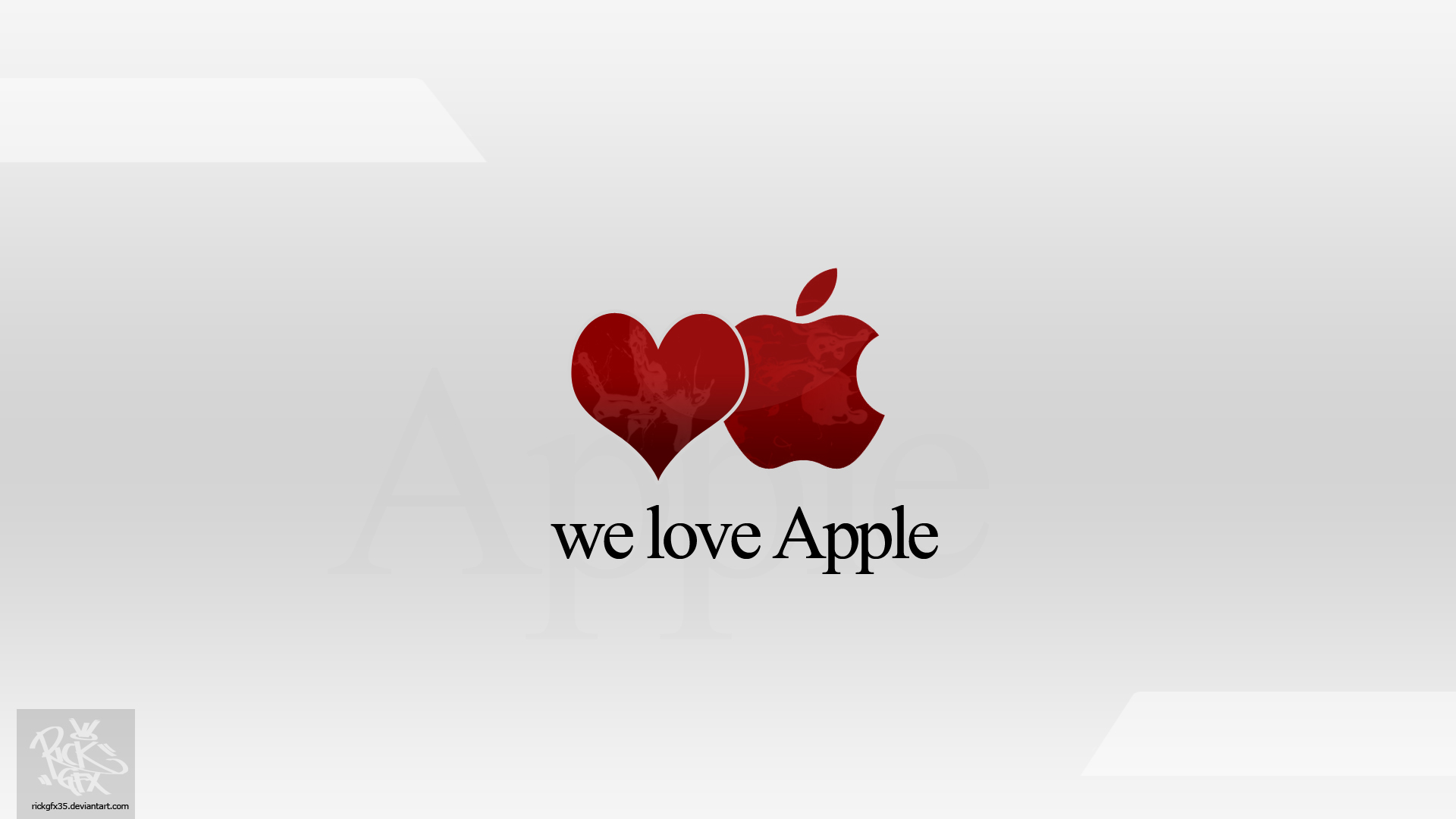 We Love Apple (Wallpaper)