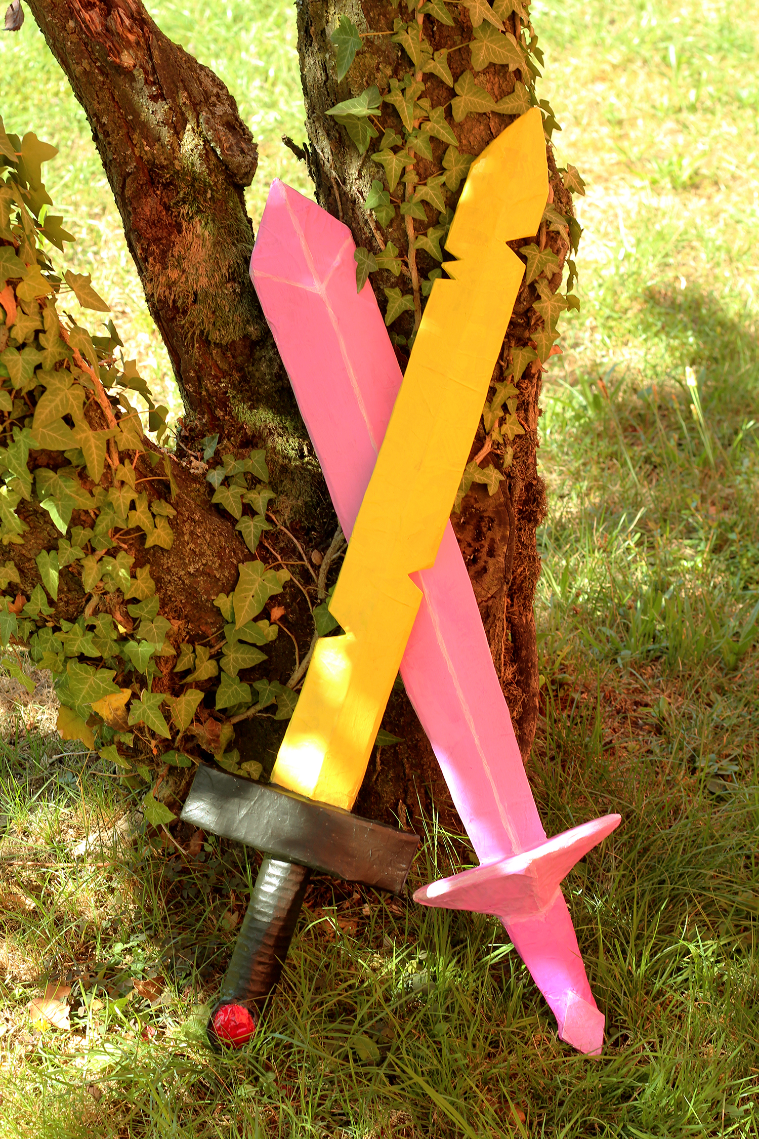 Adventure Time Finn And Fionna Diy Swords Finished By