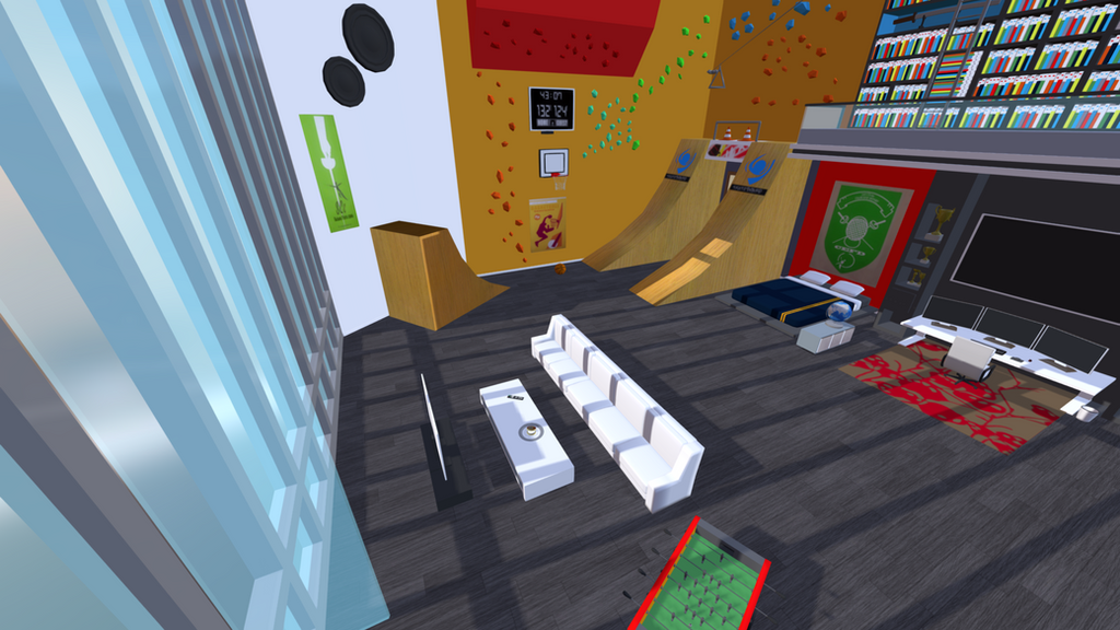 Adrien's room Miraculous Ladybug 3D scene view 2 by MarikoSusie