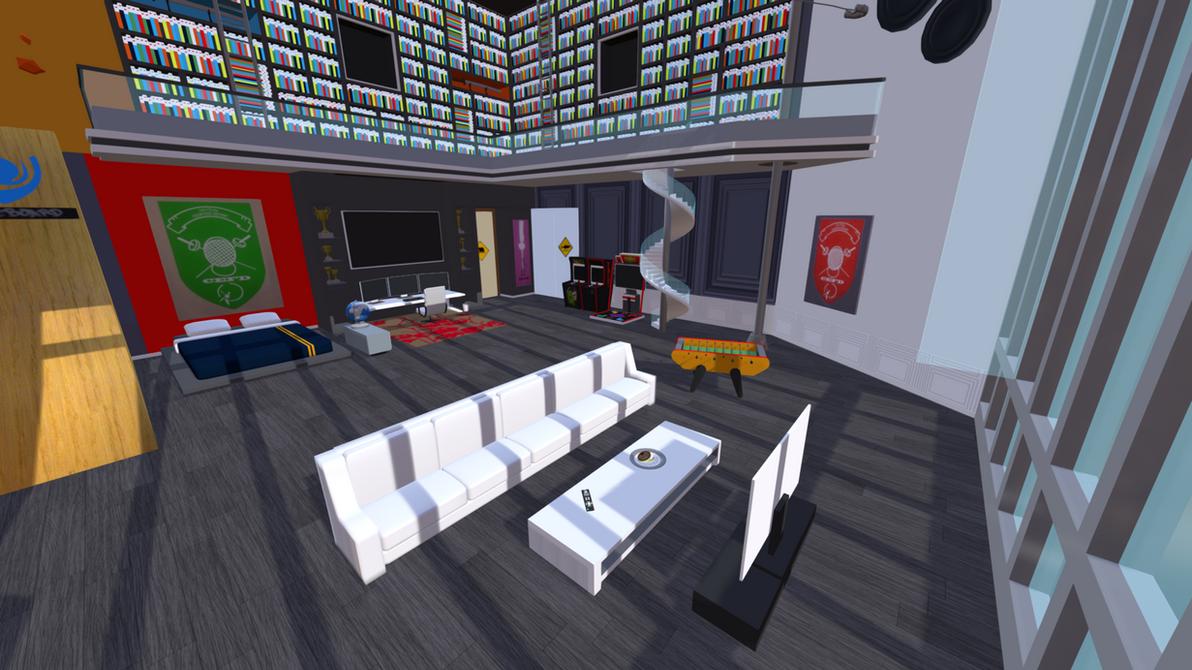 Adrien's room Miraculous Ladybug 3D scene view 1 by MarikoSusie