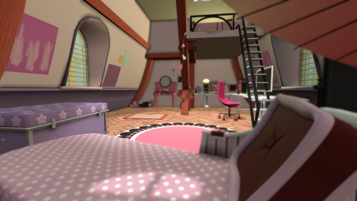 3d Marinette Ladybug Room By Marikosusie On Deviantart