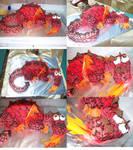 DRAGON CAKE :D