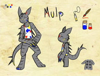 Mulp Reference by AngelicDragonPuppy
