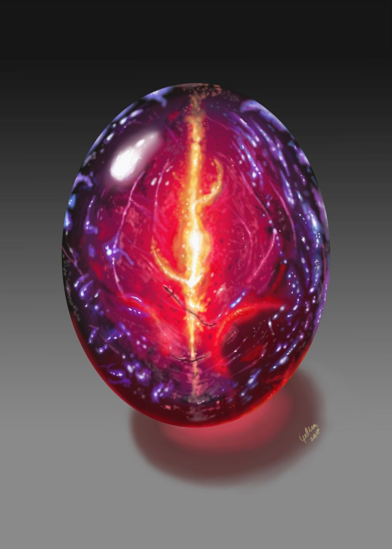 Dragon's Breath Fire Opal by Galder