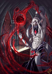 Blood magic research by Galder