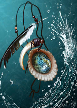 Pendant - Heart of the Ocean
