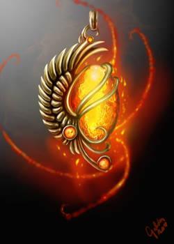 Pendant - Heart of the Phoenix