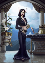 The Honey-tongued countess by Galder