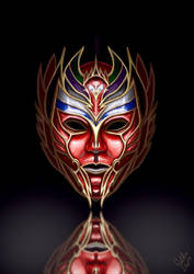 The Phoenix Mask by Galder