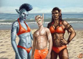 Beach Volleyball Tournament - Team Orange!