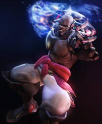 DoomFist by Its-Midnight-Reaper
