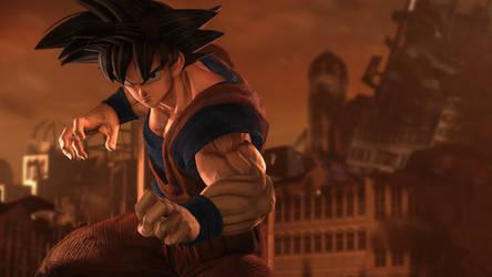 Goku by Its-Midnight-Reaper