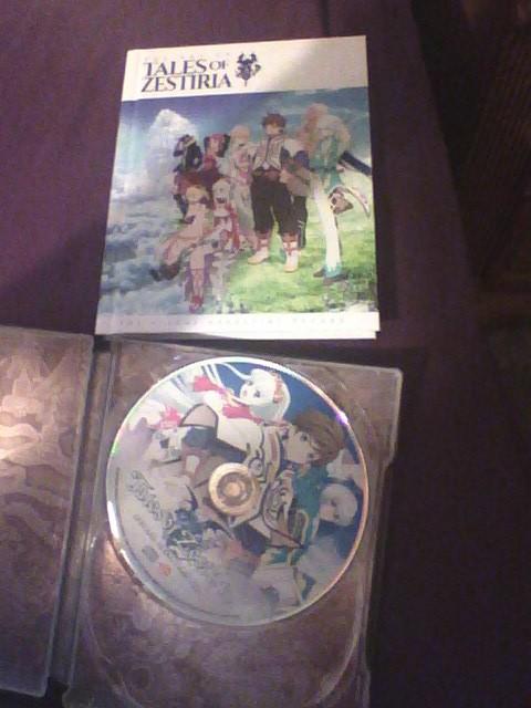 ToZ: CE Unboxing: Artbook and CD soundtrack by Ratchet-Halo