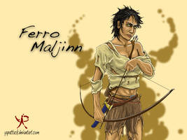 First Law: Ferro Maljinn by YapAttack