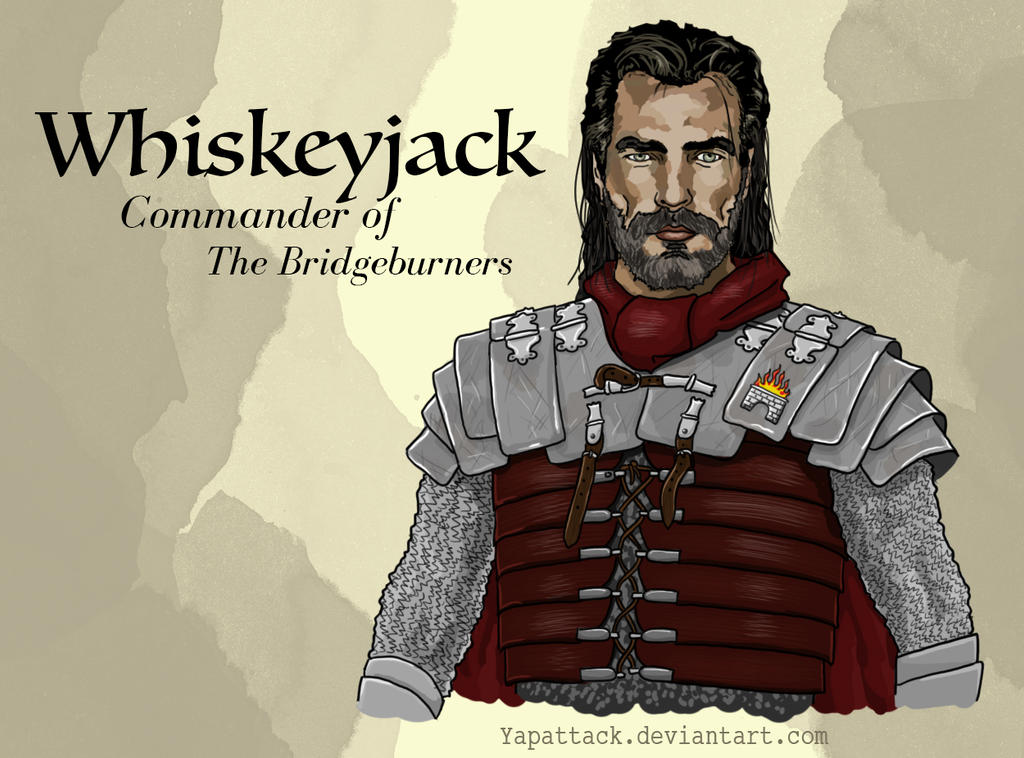 Whiskeyjack: Commander of the Bridgeburners by YapAttack