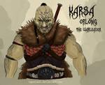 Karsa Orlong: The Warleader