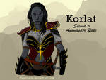 Korlat: Second to Anomander Rake