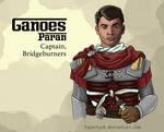 Ganoes Paran: Captain, Bridgeburners