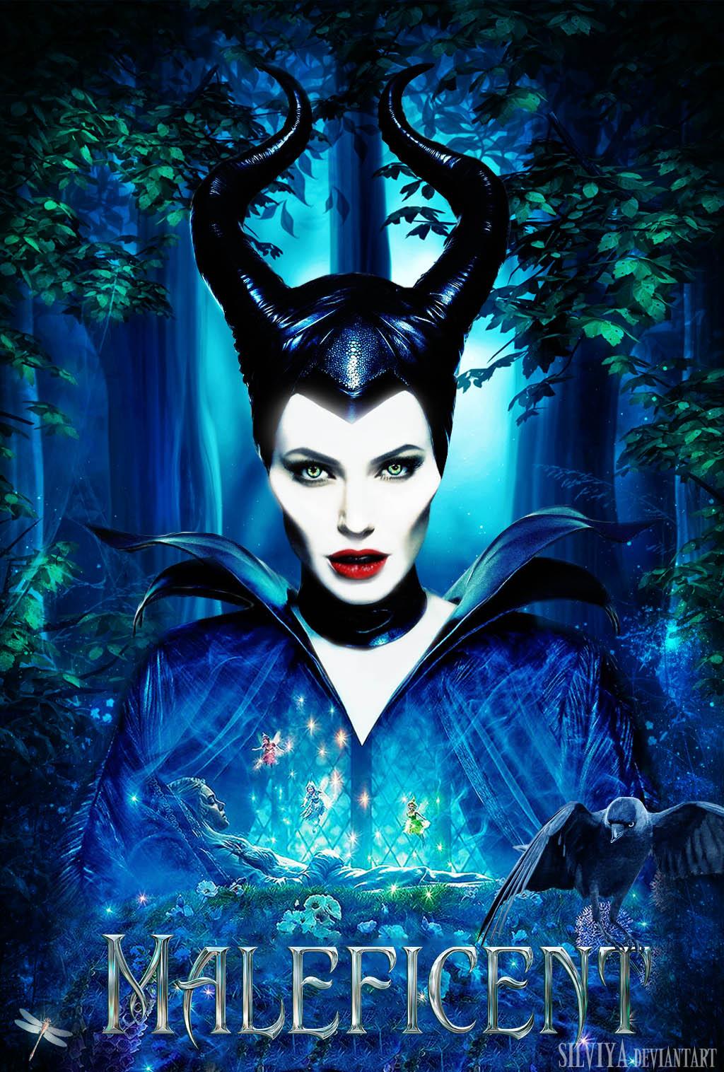 Maleficent By Silviya On Deviantart