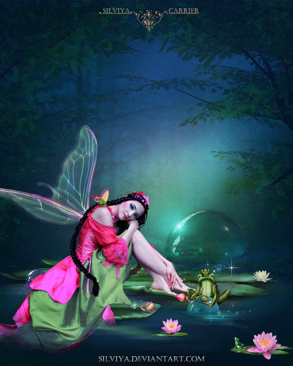The Fairy and The Frog by silviya
