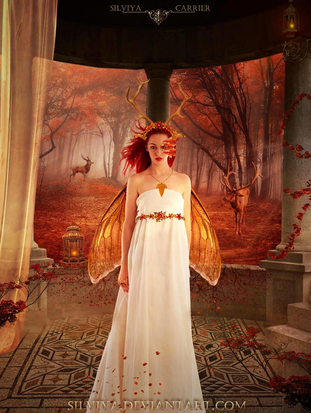 Autumn Fairy by silviya