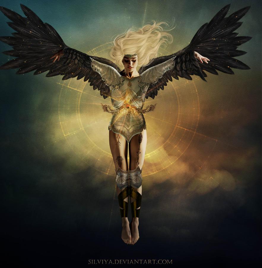 Warrior Angel by silviya