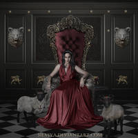 Red Blooded Lady by silviya