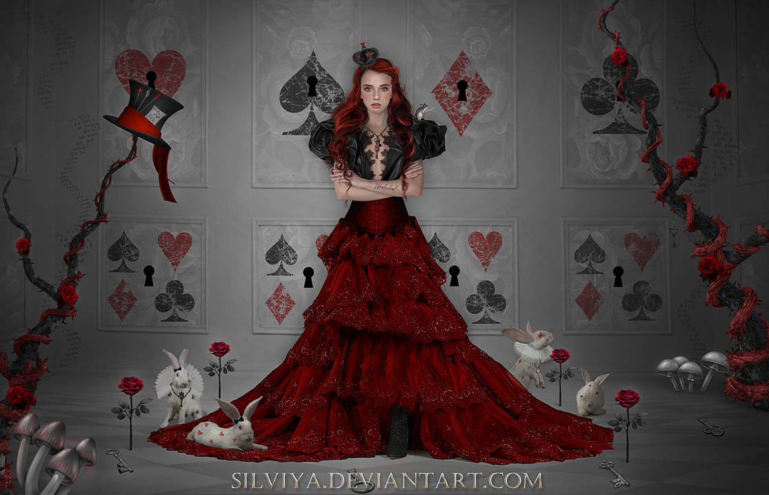 Alice The Queen by silviya