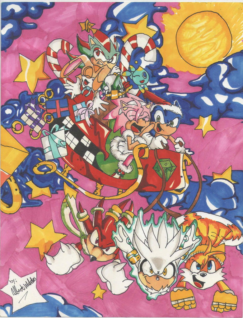 Sonic Holiday by KIOL73