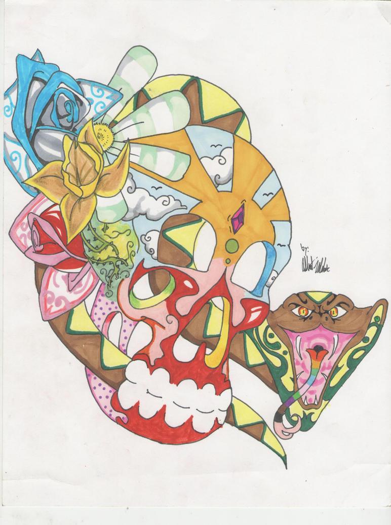 Sugar Skull by KIOL73