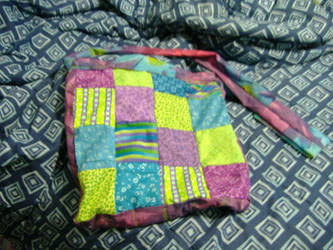 Patchwork Sling Purse by rei-jin