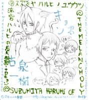 Koizumi Itsuki + Kyon: M.o.S.H by Drug-Holic