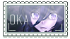 Oka Ruto Fan [F2U Stamp] by Stamp3Maker