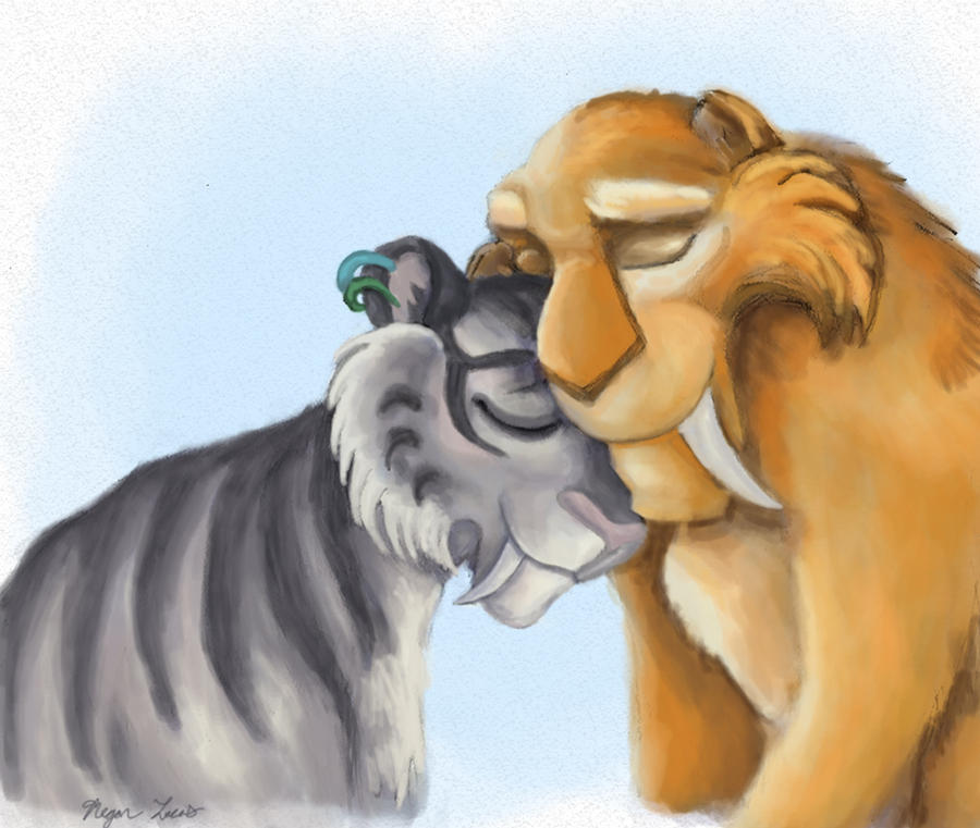 Back  gt  Pix For  gt  Ice Age Continental Drift Diego And Shira FanfictionIce Age Continental Drift Shira