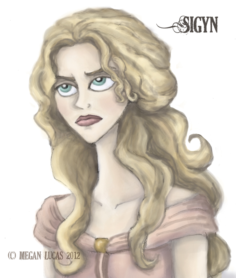 Sigyn Annoyed by MademoiselleMeg