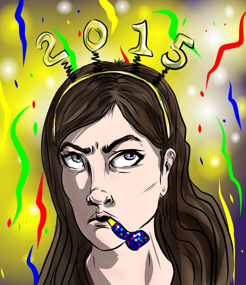 Happy 2015 by carriehowarth