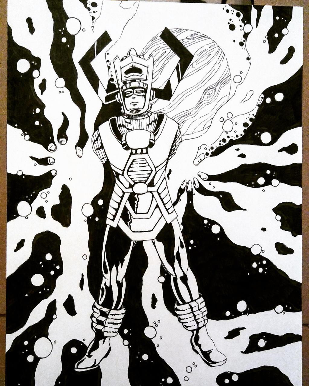 Galactus by carriehowarth