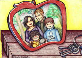 Once upon a time a family portrait. by Lillymonkey