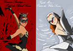Carmen and Fujiko in Swan Lake by Valiant-Hellstrom