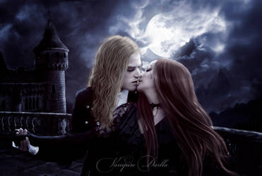 The Kiss of the Vampire by VampireDarlla