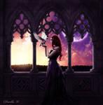 Fairy-tale sunset