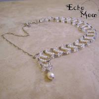 Asymmetrical Necklace by EchoMoonJewelry