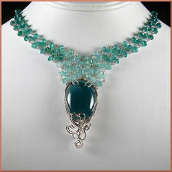 Persephone Ombre Necklace by EchoMoonJewelry