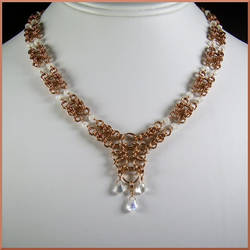 Aeval Chainmaille Bridal Necklace