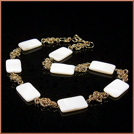Zaria Chainmaille Bridal Necklace