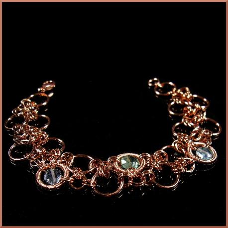 Kai bracelet by EchoMoonJewelry