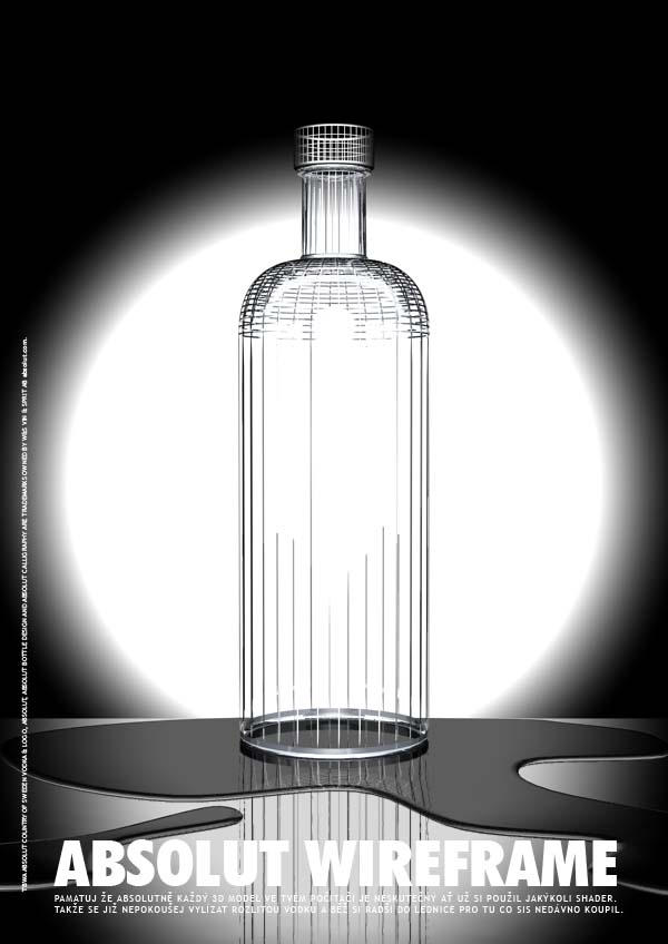 ABSOLUT WIREFRAME by miki