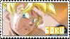 Goku Stamp by bremm-ruarte