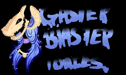 MLP Species Ref :: Gaster Blaster Ponies by NlSHlNOYA
